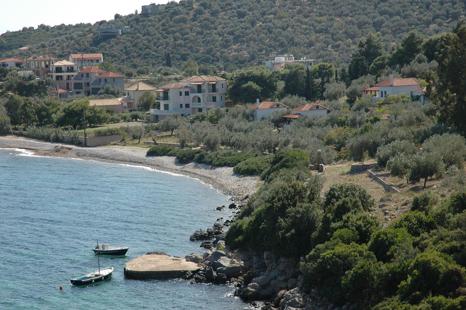 Glyfa Beach on Alonissos