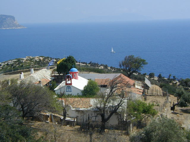 Kyra Panagia on Alonissos