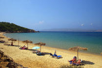 Mandraki Beach on Skiathos