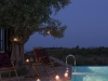 Poikilma Villas - Elia - Swimming Pool Night