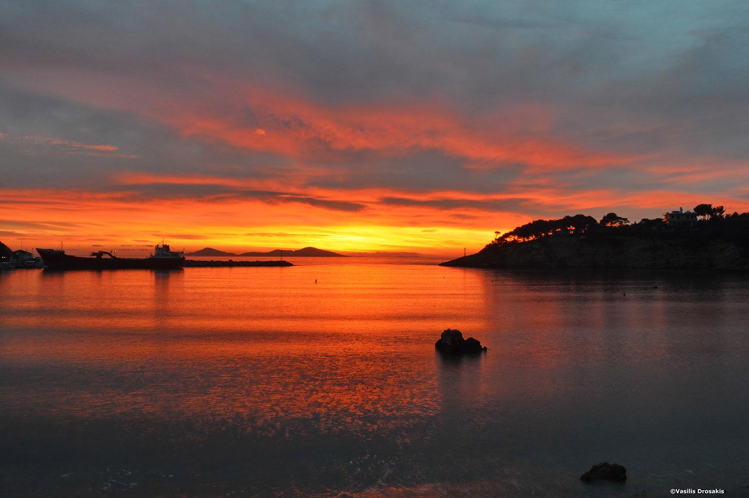 Sunset on Alonissos