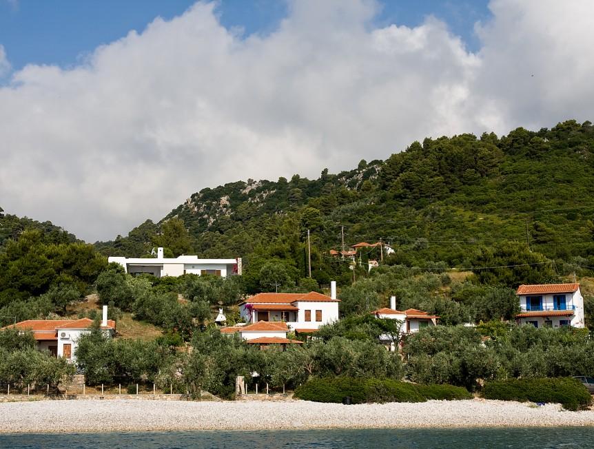 Glyfa Houses on Alonissos