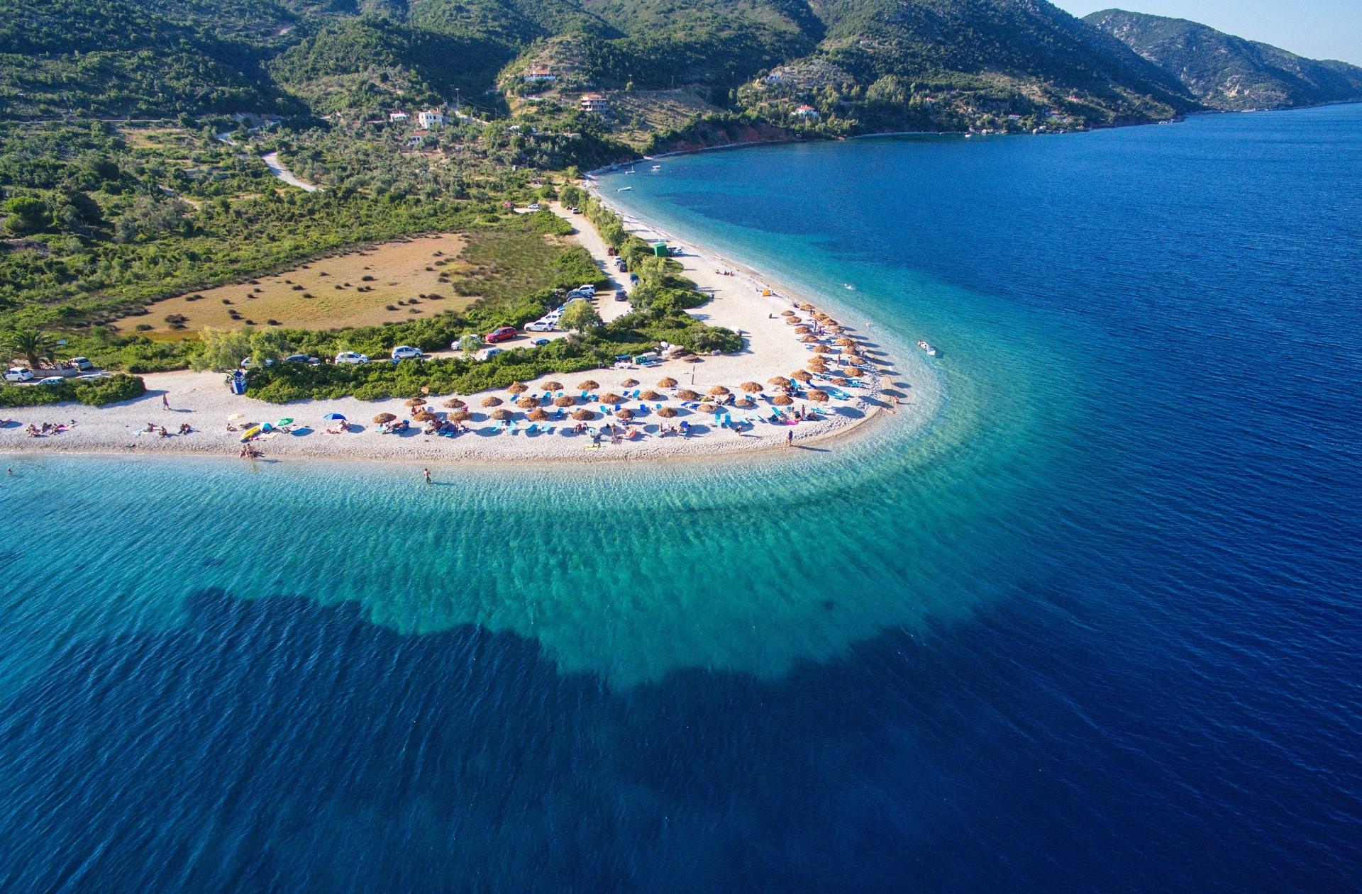 Agios Dimitrios Beach on Alonissos