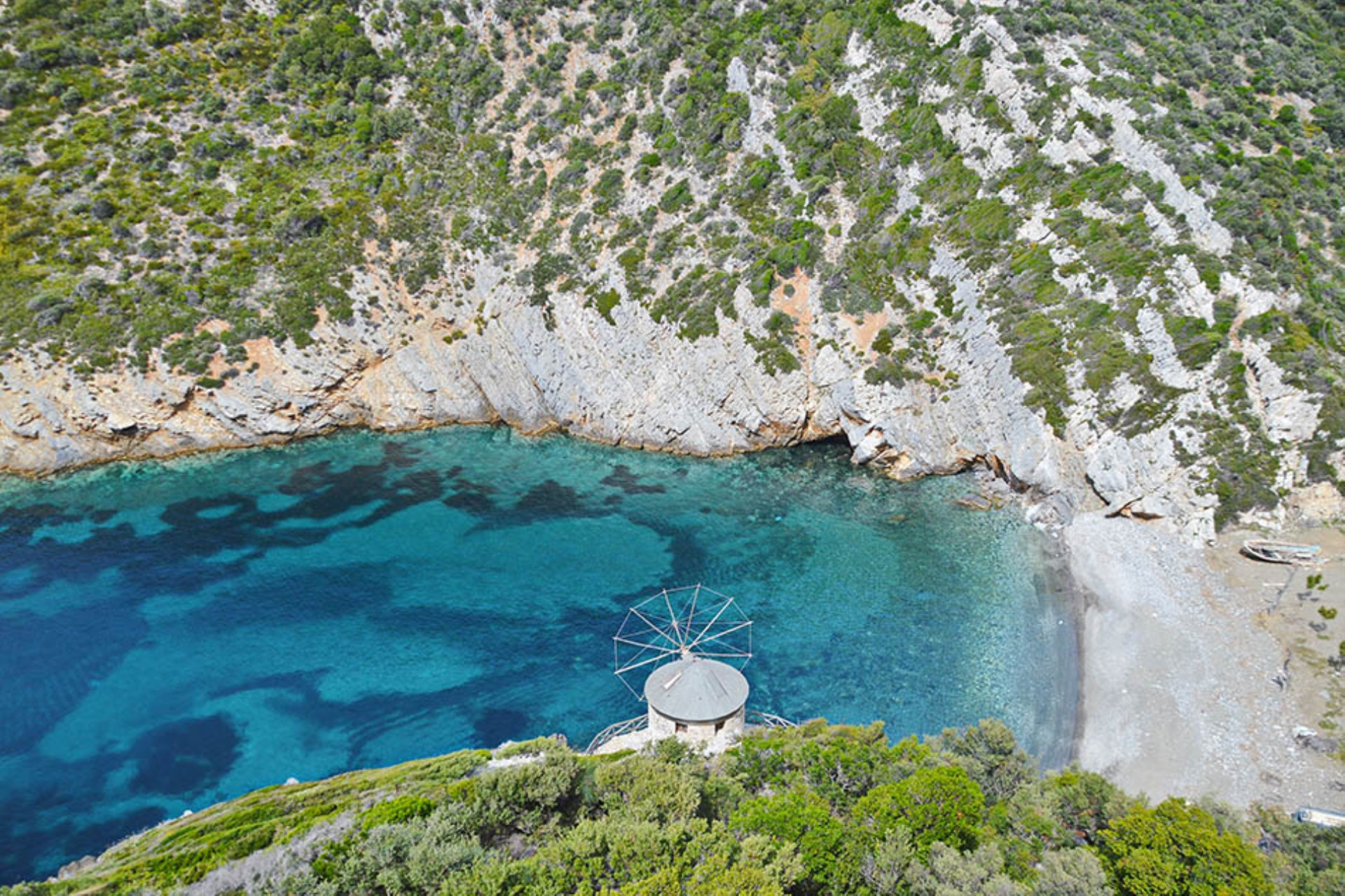 Gialia Beach on Alonissos