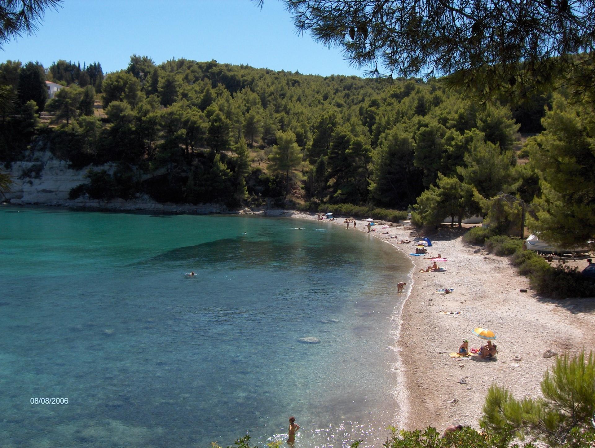 Milia Beach on Alonissos